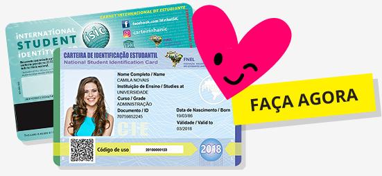 d3cfe2eec ISIC - Carteira Mundial do Estudante